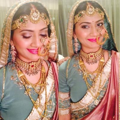 Bridal Jewellery Designs | Polki, Kundan, Gold and Diamond | Wedmegood..........m in love with this look...one should definetly try dis on her D day :)