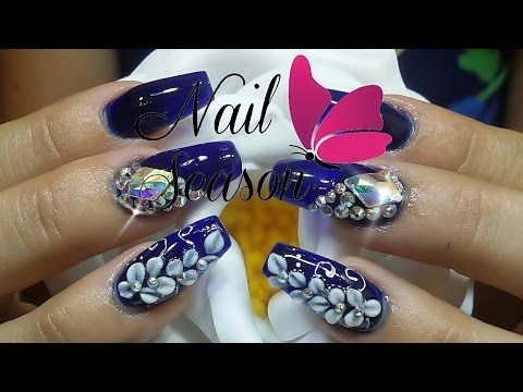 Uñas decoradas 2016 Diseños uñas acrilicas Nail Art Ideas y Tendencia - YouTube