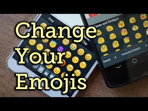 Replace Samsung's Emoji Icons with Apple iOS or Google Emoji [How-To] - YouTube
