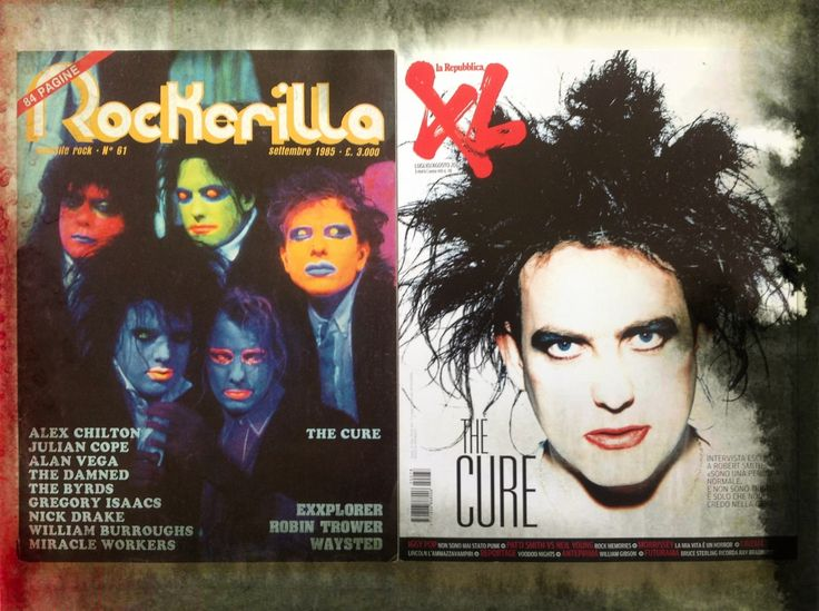 Robert Smith, The Cure - 1985 / 2012