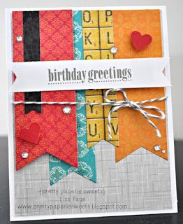 {pretty paperie sweets} ~ birthday greetings