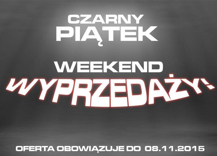 Czarny Piątek rozpoczyna u nas weekend promocji! http://sklep.ferguson.pl/pl/n/5
