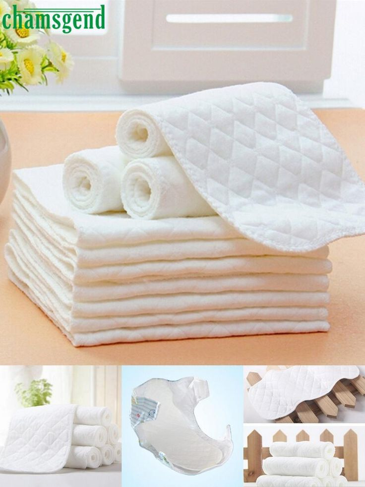 [Visit to Buy] Chamsgend 5PCS Baby Diapers Bamboo Eco Cotton Disposable Diapers Nappy Baby Levert Dropship Feb06 #Advertisement
