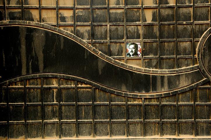 Saddam is Here, 2009-2010 by Jamal Penjweny (Iraq)