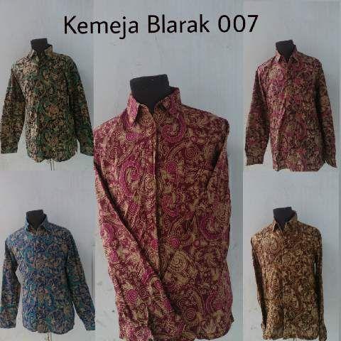 Kemeja batik blarak07 940rb sekodi pvi-0216 solomurah | SoloMurah