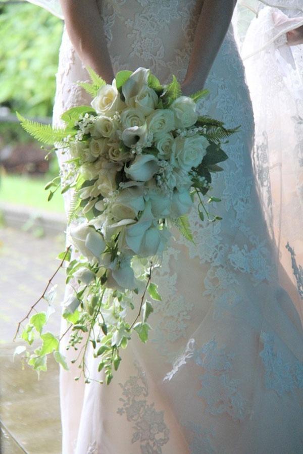 Ramos de novia en cascada #ramos #boda #cascada