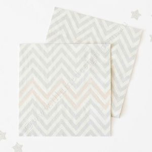Let's Party With Balloons - Illume Design Silver Chevron Napkins, $11.00 (http://www.letspartywithballoons.com.au/illume-design-silver-chevron-napkins/?page_context=category