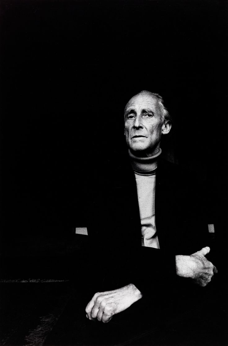 Unknown. Portrait of Bill Brandt. 1979 [::SemAp Twitter || SemAp::]