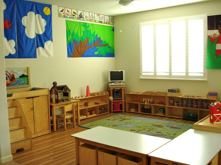 Montessori Classroom Design Ideas : Love the steps by changing table makes great fun for