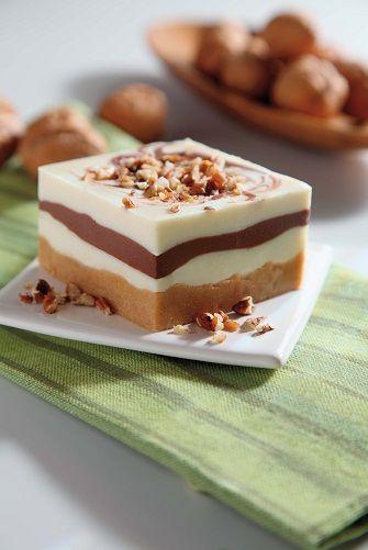 Cheesecake frío de chocolate