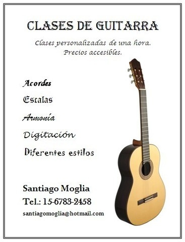 Clases de guitarra criolla en Quilmes