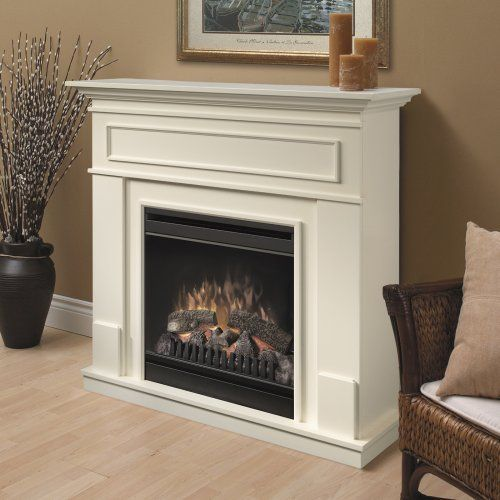 Dimplex Pierce Electric Fireplace White 389