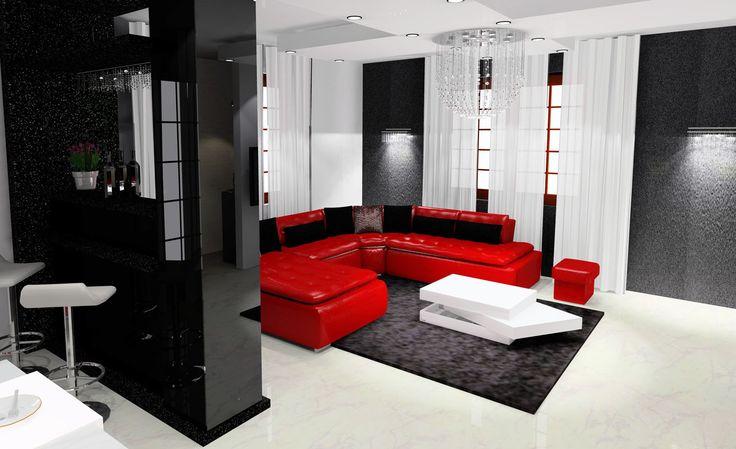 Wizualizacja salonu
