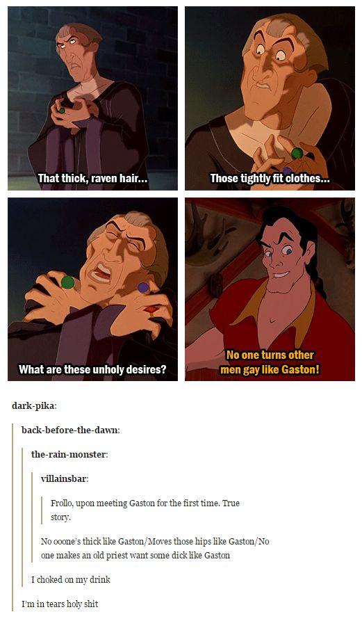 Judge Frollo's got a real problem