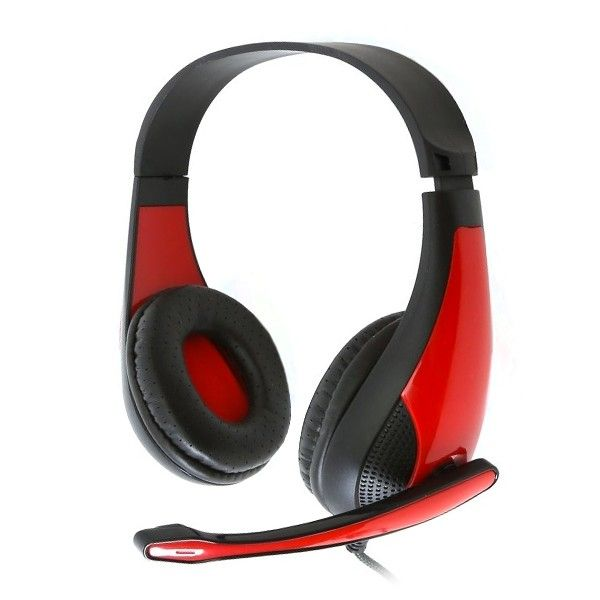 OMEGA FREESTYLE Headphones + Microphone PC GAMING FH4008R Red7,74 €