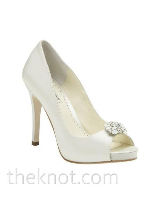Keira by Keira // More from Keira: http://www.theknot.com/gallery/bridal-accessories/benjamin-adams-by-bellissima-bridal-shoes