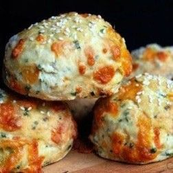 Cheese-y Beer Scones:  I found it very funny that my husband, who is currently on a low carb diet, forwarded this recipe to me.  It does sound good though!