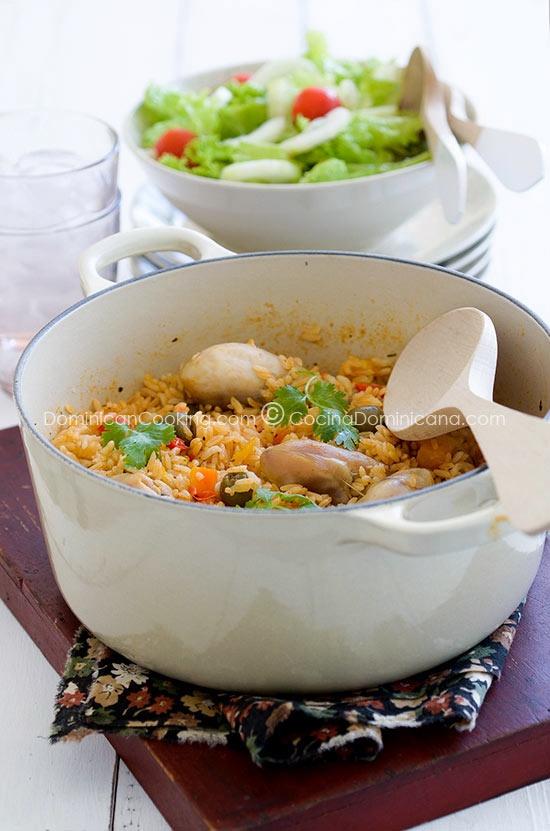 Dominican Style Chicken  amp  Rice  Food  Recipe  Yummy  Meals  Dinner      Dominican Arroz Con Pollo