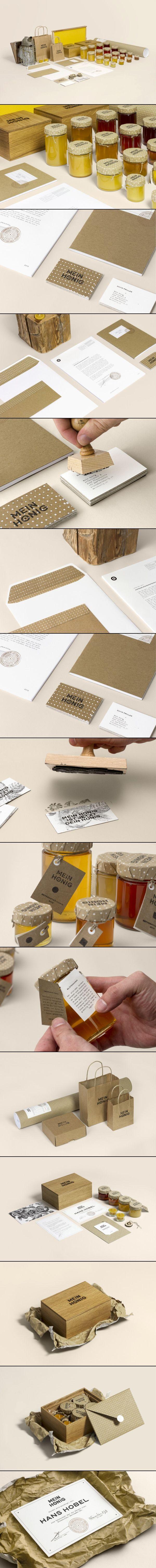 Mein Honig #identity #packaging #branding #marketing PD