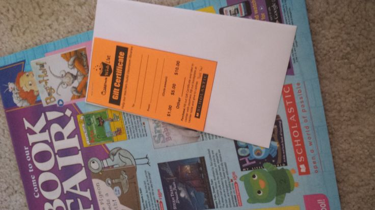 Book Fair Idea: Print up the Gift Certificates in the Tool Kit and staple on an envelope. Include with your flyer distribution. Encourage parents to donate an amount to the classroom and return in envelope before book fair. Tally by classroom and allow teacher to spend amount received.