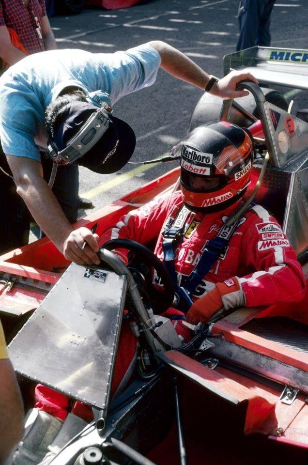Gilles Villeneuve Ferrari 312T4 retired with transmission failure on lap 55. Monaco Grand Prix 1979.