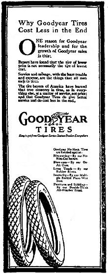 Goodyear Tire and Rubber Company - Wikipedia, the free encyclopedia