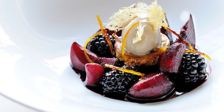 Wintry desserts can be thin on the ground but this spectacular recipe from Gary Jones produces a warming dessert, complete with a dollop of cinnamon ice cream