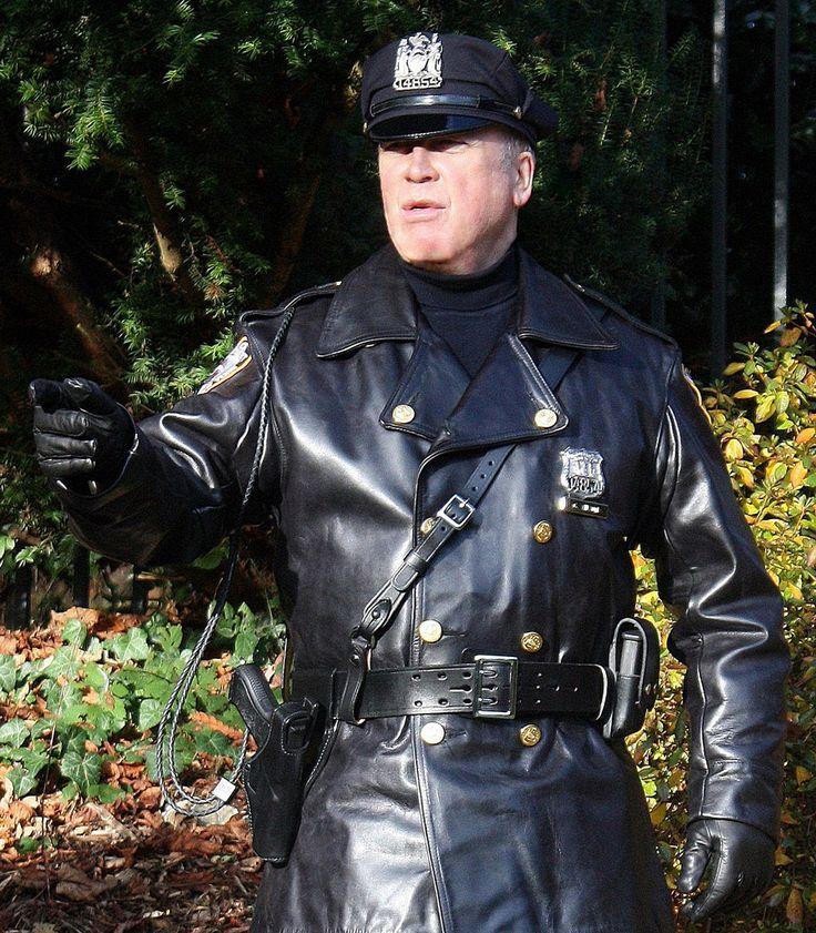 Police Leather Jacket 52