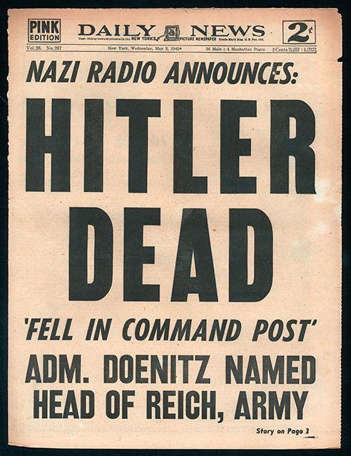 1945 - Hitler Dead!