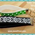 Make Your Own Wristlet Key Fob