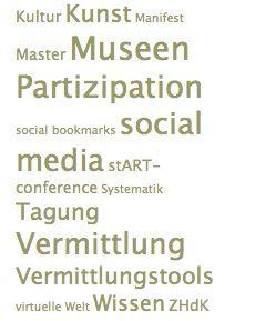 Master, ZHdK, Blog, Vermittlung 2.0
