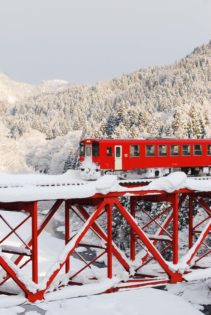 Japan in winter..