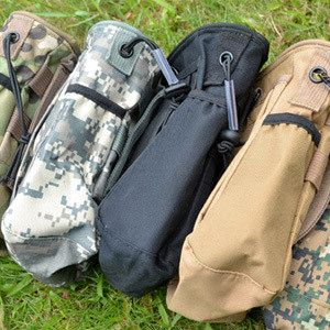 Multi-layer Camouflage grocery bags storage hanging bag waist pack bag in bag