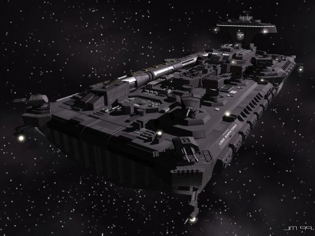 Space: Above and Beyond - The Saratoga. Another under-appreciated series, in my opinion. The Saratoga is a descendant of a long proud line of aircraft carriers, just in space. It carries several squadrons of fighters, dropships, and emergency rescue craft. Also, much like modern carriers, it is never alone. It is normally accompanied by a flotilla of escort and support craft and commanded, therefore, by a Commodore (as opposed to a Fleet Captain or Rear Admiral). Commanded by Commodore Ross.
