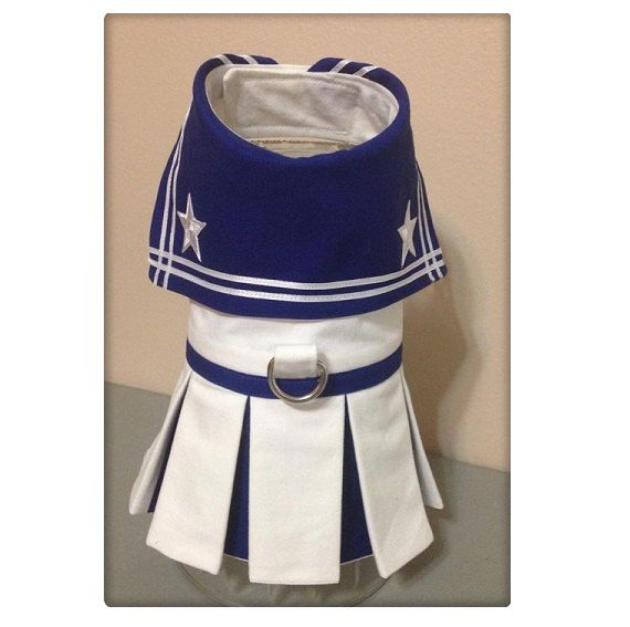 Sailor Dog Dress by FourFootedFashions on Etsy
