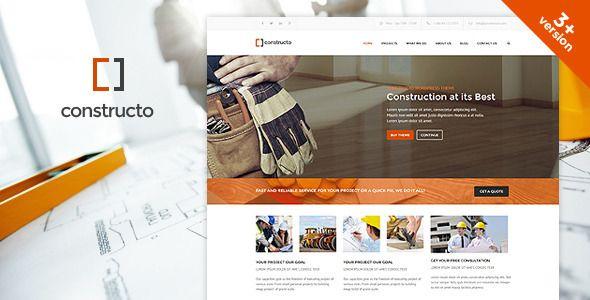 Constructo - WP Construction Business Theme - https://twitter.com/bellaatikah455/status/685217864496746496