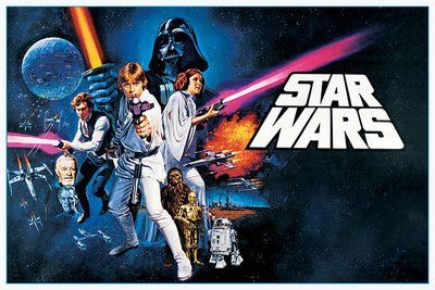 24x36 Star Wars  A new hope Movie Poster *** Click image to review more details.Note:It is affiliate link to Amazon.