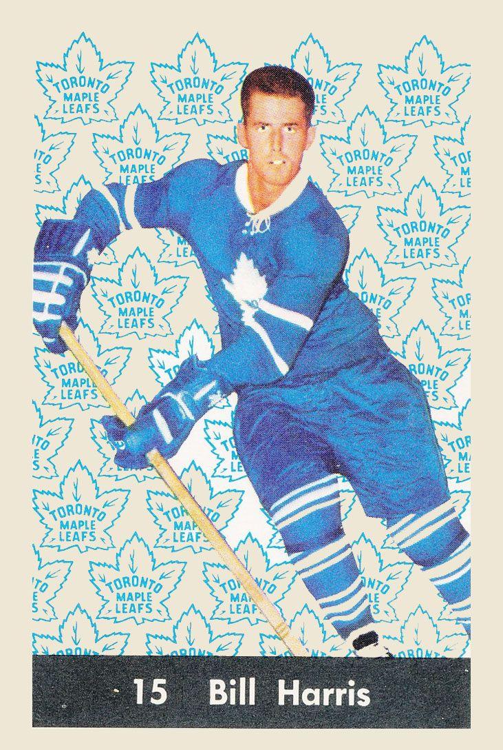 Bill Harris  1961-62  Parkhurst Hockey Card