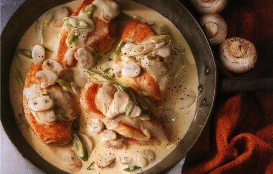 Рецепты куриного филе в сливочном соусе, секреты выбора ингредиентов