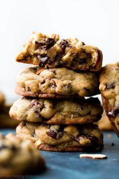 By far one of the best chocolate chip cookies I've ever made! These super soft and thick dark chocolate cranberry almond cookies are full of flavor.