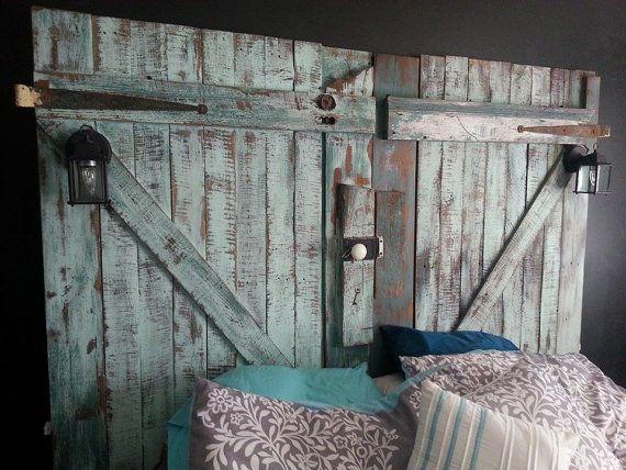 Barn Door Headboard King