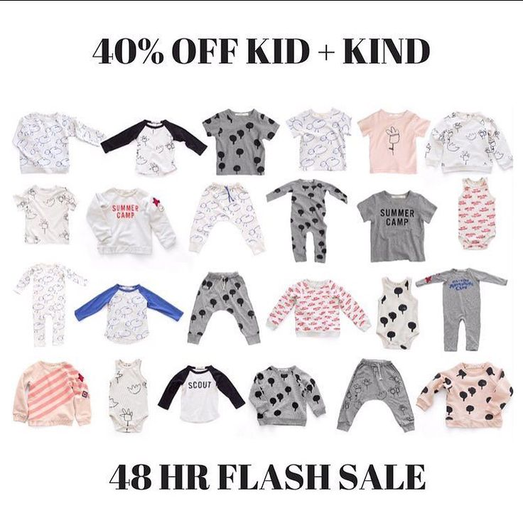 40% Off Kid  Kind! Ends tomorrow! 48hr flash sale on one of our most loved brands! There's still plenty of jumpers and long sleeve Raglans available - sizing is a generous TTS especially with the tops so no need to size up like previous seasons.  Code: kidandkind FREE shipping on orders over $100 Afterpay and ZipPay available #kidandkind #kidandkindstockist #kidandkindsale