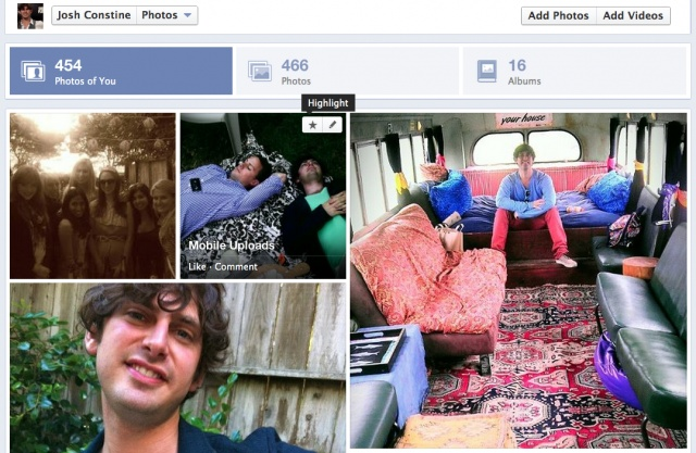 Facebook Timeline Photos Redesign Lets You Blow Up Favorites 4X Larger, Shows Tagged ShotsFirst