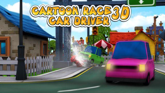 Cartoon Race 3D Car Driver #racinggame #transylgamia #indiegame #indiedev #iosgame