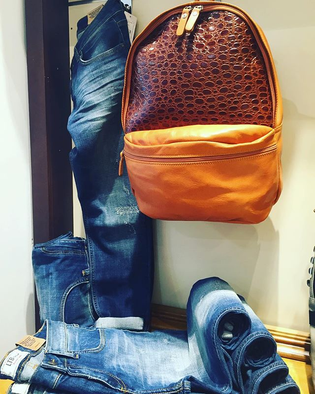 #johnandy #leather #backpack #jeans #ltb #call_for_orders #00302109703888