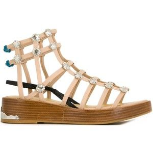 Toga gladiator sandals