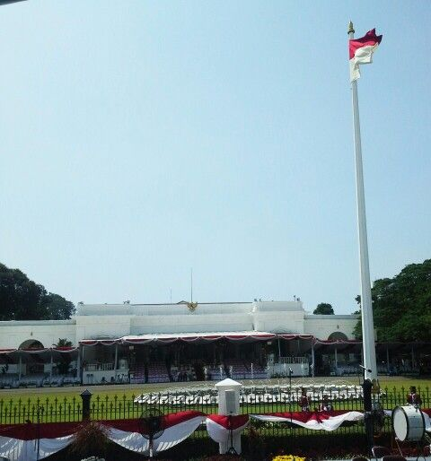 The Presidential Palace in city of Jakarta