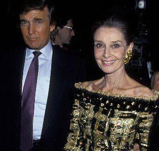 Audrey and Donald Trump at Casita Maria Fiesta, October 1992