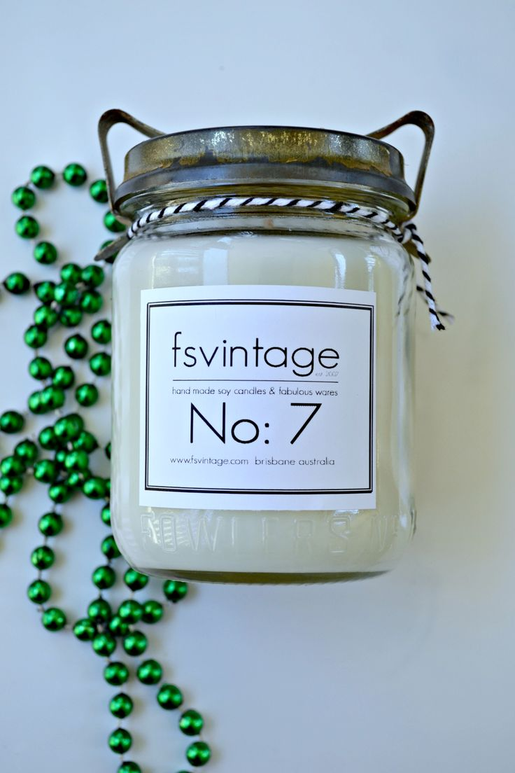 No14 New Fowler Soy Candles  www.fsvintage.com