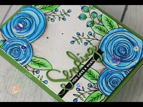 *Link to blog post with all the info: http://bit.ly/2m7DJQO **links to online sources for all the supplies used: • Simon Says Clear Stamps SKETCH RANUNCULUS ...